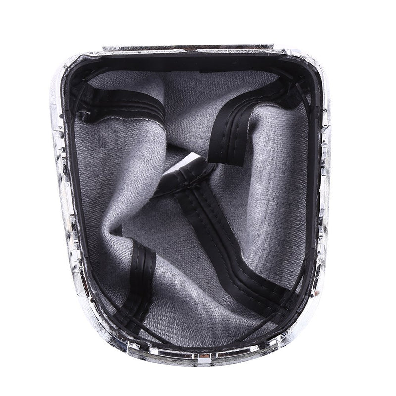 [AUSTRALIA] - Qiilu Car Gear Shift Knob Cover Gaiter Boot Fit PU Leather for Chevrolet Cruze 2008-2012