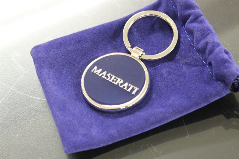[AUSTRALIA] - Authentic Maserati Blue Corporate Key Ring/Key Chain 2018276