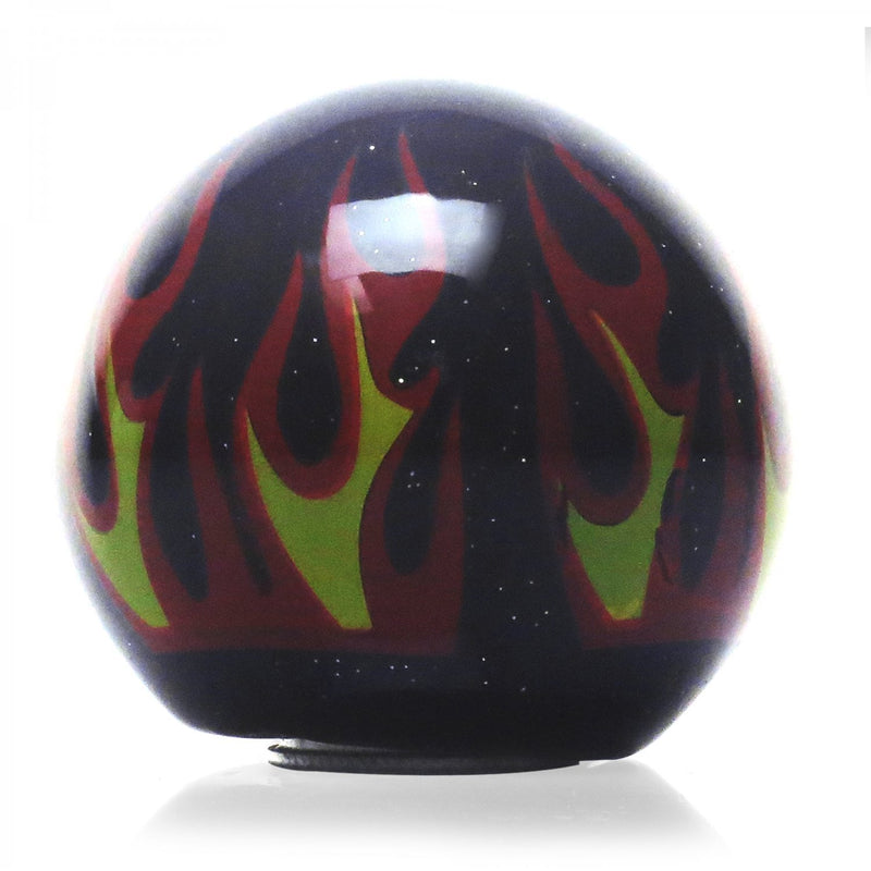 [AUSTRALIA] - American Shifter 294285 Shift Knob (Orange Star Black Flame Metal Flake with M16 x 1.5 Insert)