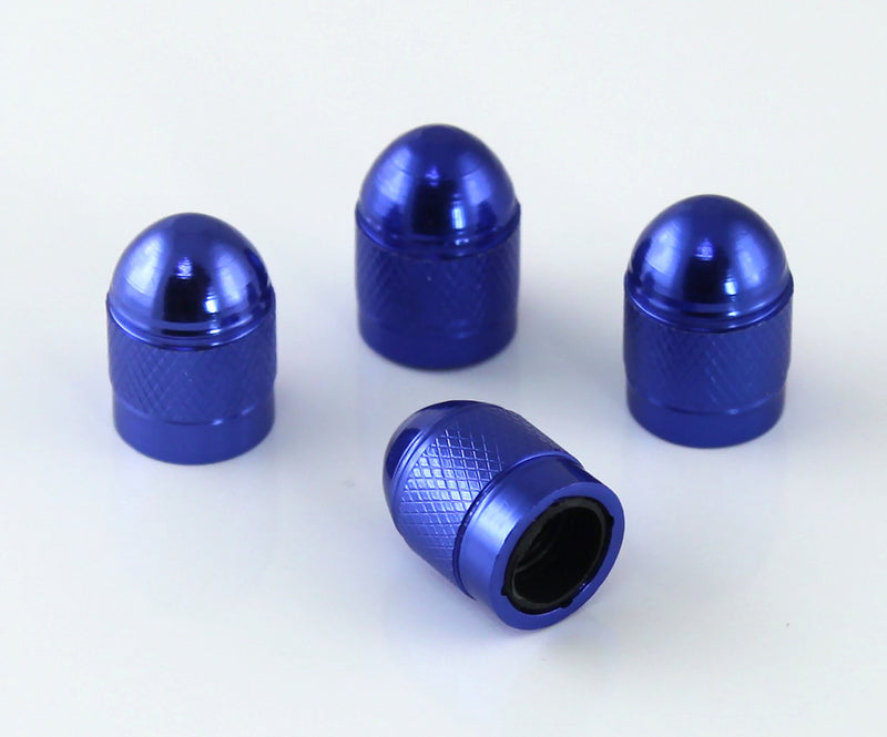 [AUSTRALIA] - Slime 20130 Custom Series Blue Anodized Valve Caps