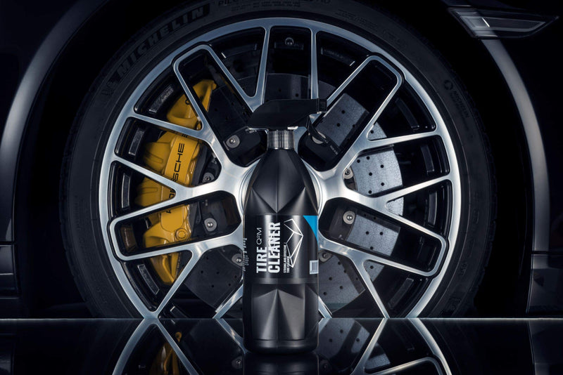 [AUSTRALIA] - GYEON Quartz Q²M TireCleaner - Tire and Rubber Cleaner - Remove Old Tire Shine and Dressings Easily - Deep Clean Tires and Rubber - Safe on All Wheel and Tire Finishes 400ml 500ml