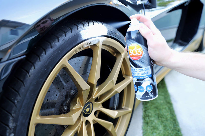 [AUSTRALIA] - 303 (30393) Products Tire Coating & Protectant-Sling-Free Formula, 18oz