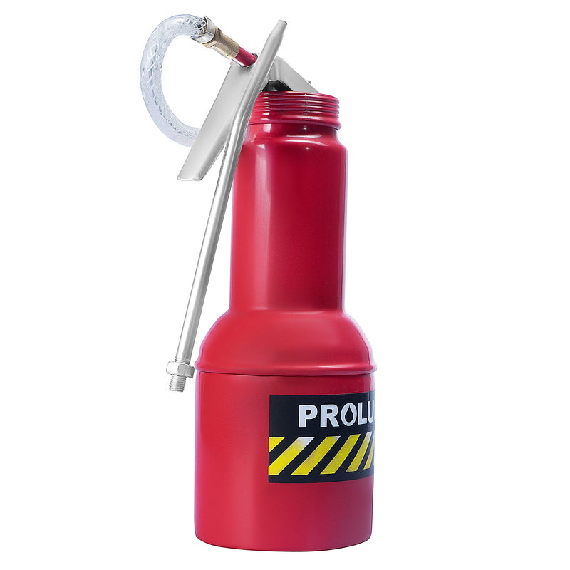 [AUSTRALIA] - PROLUBE 16-Ounce Pistol Grip Oil Can | Steel Pump | Rigid & Flexible Spout | Base Included (42233)