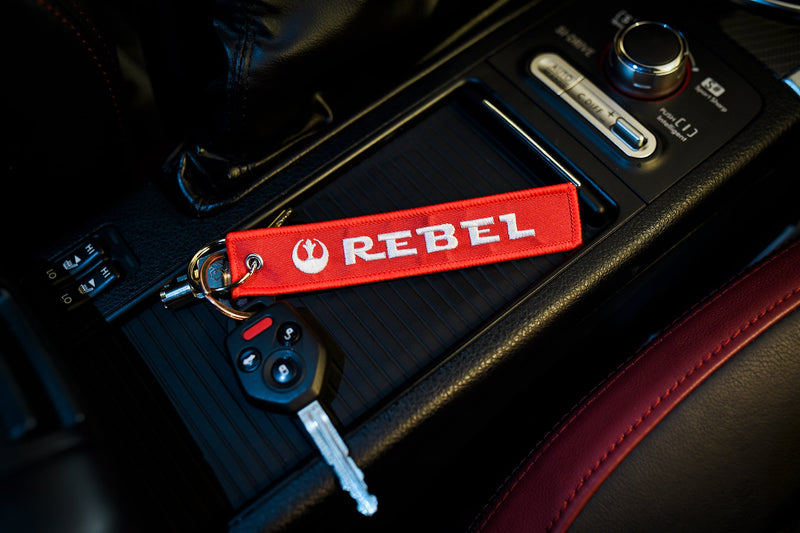 "[AUSTRALIA] - Apex Imports Rebel Alliance Remove Before Flight Style Key Chain 5.5"" x 1"" Motorcycle ATV Car Truck Keychain"