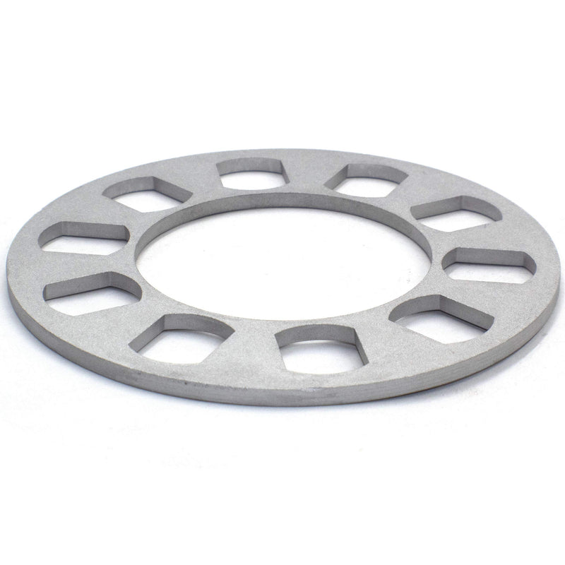 [AUSTRALIA] - Wheel Spacer | Die Cast Aluminum | 5 Lug [100mm/4.25 to 120mm/4.75 BC] - 8mm or 5/16 Thick [2 Pack]