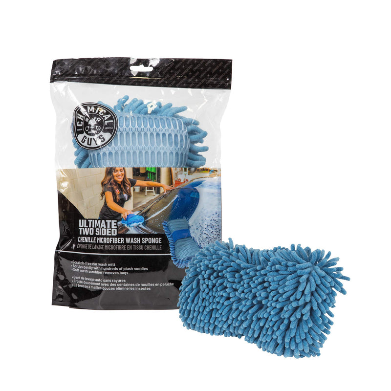 [AUSTRALIA] - Chemical Guys MIC_495 Ultimate Two Sided Chenille Microfiber Wash Sponge