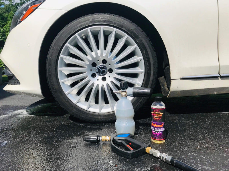 [AUSTRALIA] - AUTO FANATIC Professional Wheel & Tire Cleaning Foam, Super Mega Concentrate Makes up to 4 Gallons, No Nasty Fumes,
