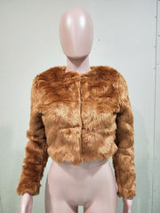 Lippy Faux Fur Coat
