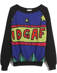 Retro IDGAF Sweatshirt