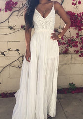 Princess Ruffle Maxi Dress