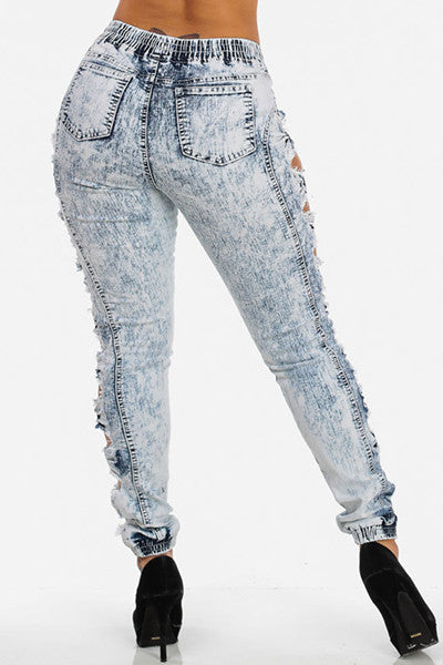 Side Bow Knot Jeans