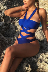 Cindy Cobalt Bathing Suit