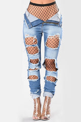 Elle Extreme Ripped Jeans