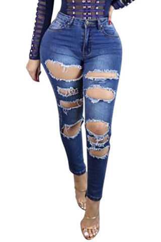 Meg Multi Ripped Jeans