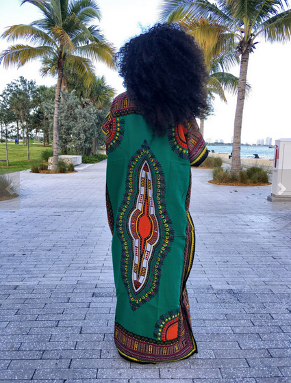 Maxi Dashiki Dress