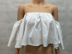 Amy Cuff Full Frill Off Shoulder Blouse