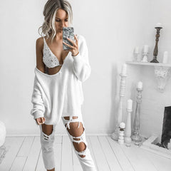 Angel Slouch Oversized Sweater