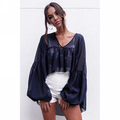 Lucy Loose Frill Blouse