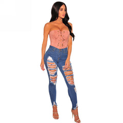 Melena Extreme Ripped Jeans