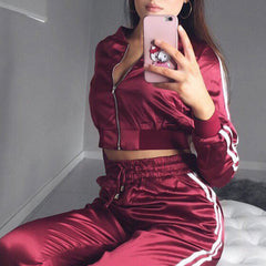 Sal Stripe Jacket Pants Set
