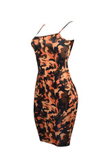 Camo Mode Bodycon Dress