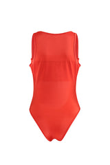 Tangerine Stretch Swimsuit