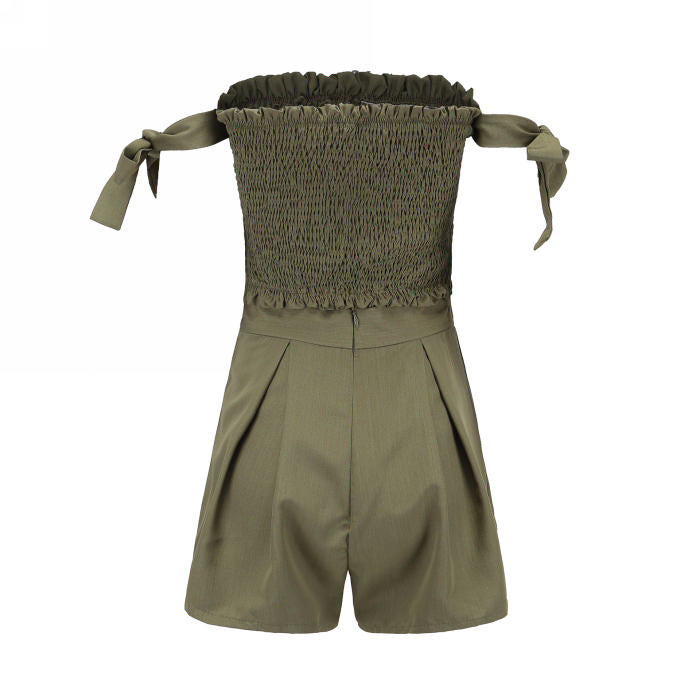 Amy Cuff Ruff Shorts Set