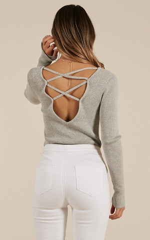 Criss Cross Back Top