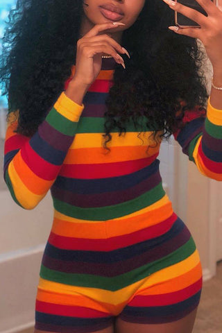 Rainbow Lounge Playsuit
