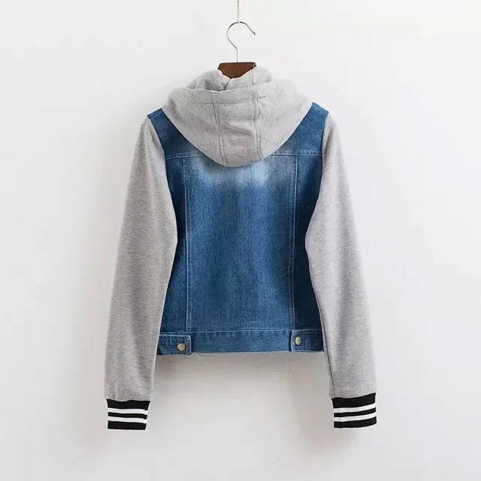 Denime Sweatshirt Jacket