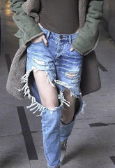 Ellie Extreme Ripped Jeans