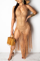 Tess Tassel Beach Dress
