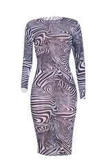 Cosmo Swirl Dress