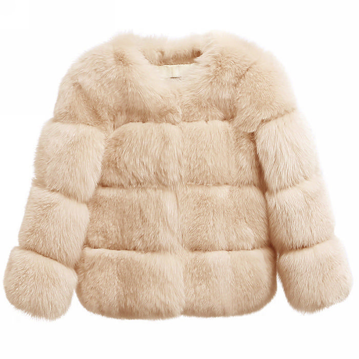 Shorti Bubble Faux Fur Coat