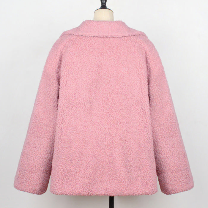 Zipper Teddy Coat