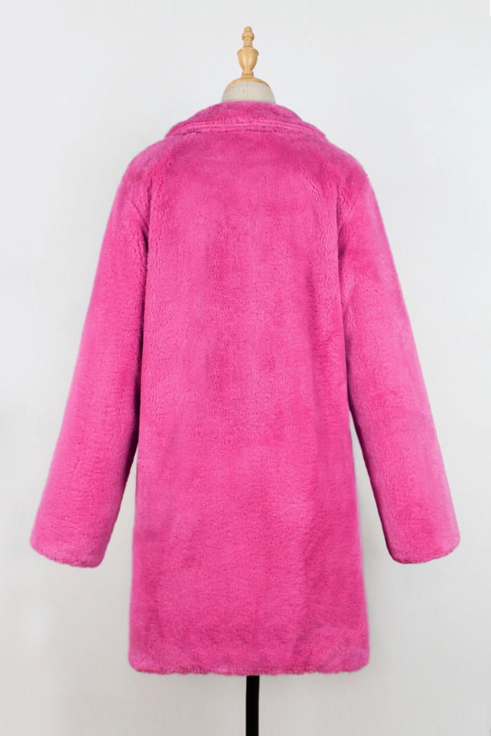 Pinkie Teddy Coat