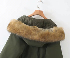 Faith Fur Hooded Parka