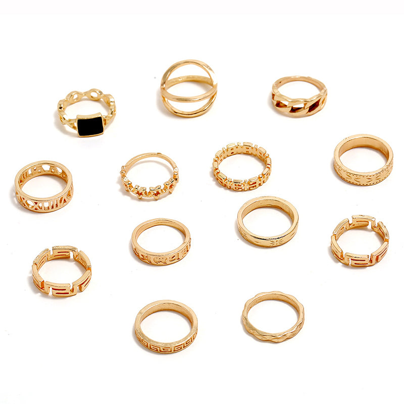 Cleo Gem Ring Set