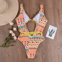 Aztec Ankara Swimsuit
