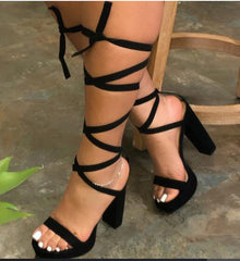 Wrap Around Me Heels