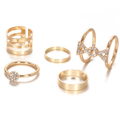 Chic Cuff Ring Set
