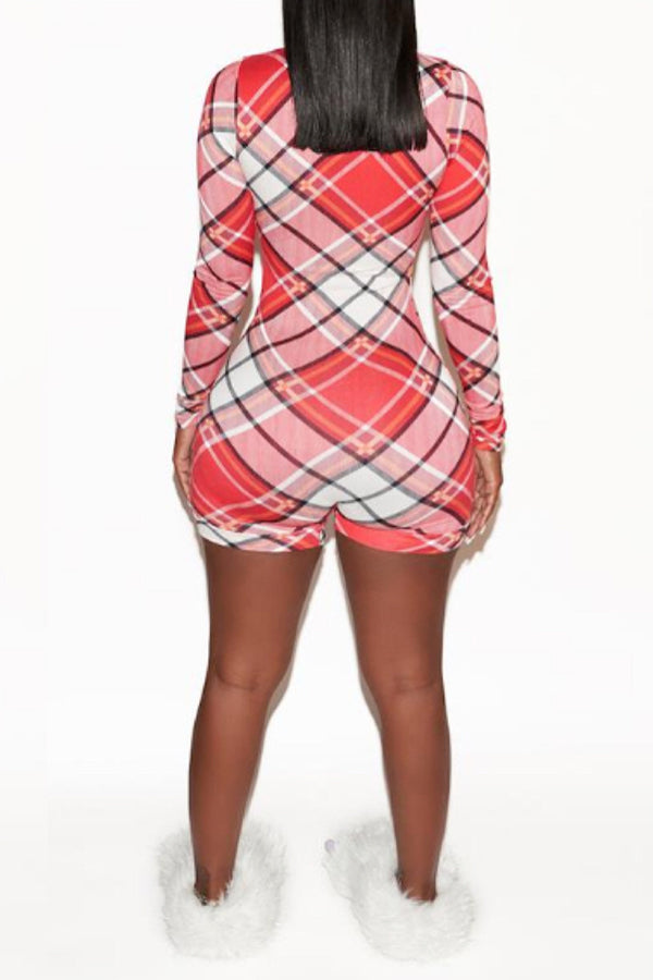 Chequered Lounge Romper
