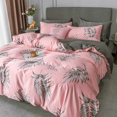Pinkie Palm Bedding Set
