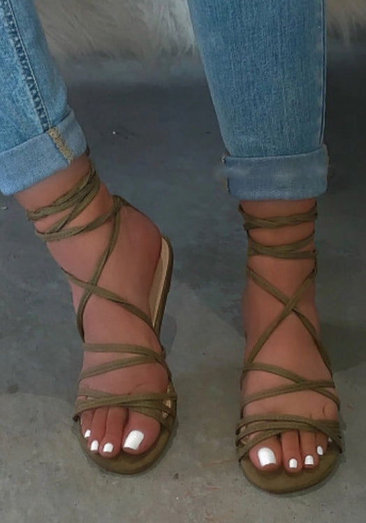 Wrap Around Sandals