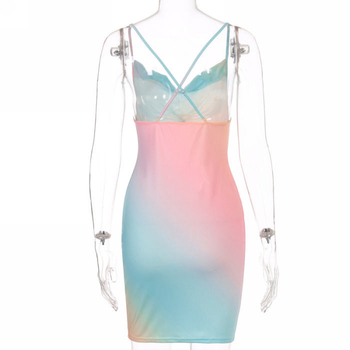 Candy Floss Bodycon Dress