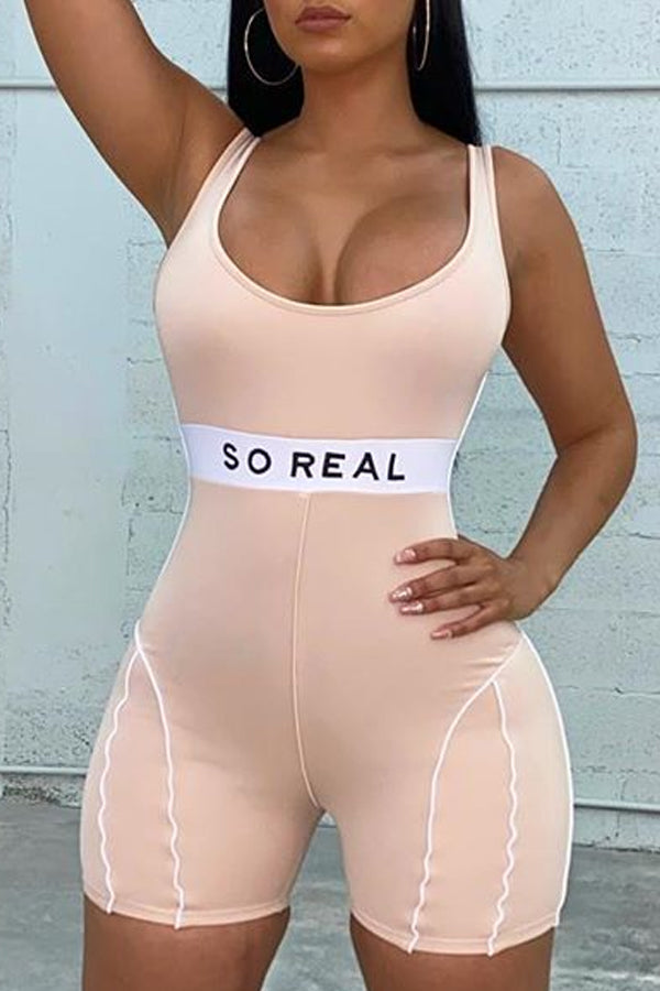 So Real Workout Romper