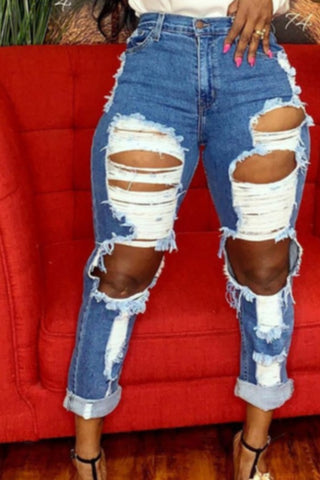 Savage Cut Jeans