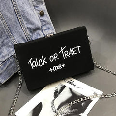 Trick or Treat Clutch Bag