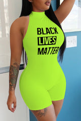 Black Lives Matter Lounge Romper