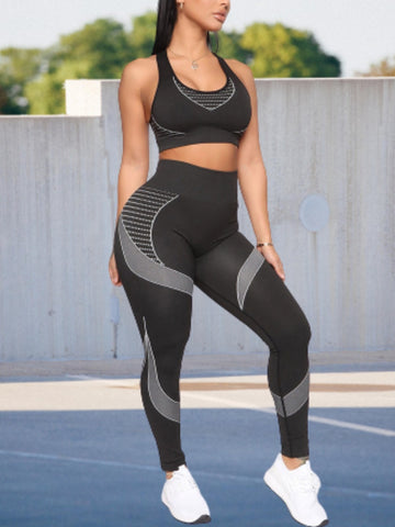 Lines Girl Workout Set
